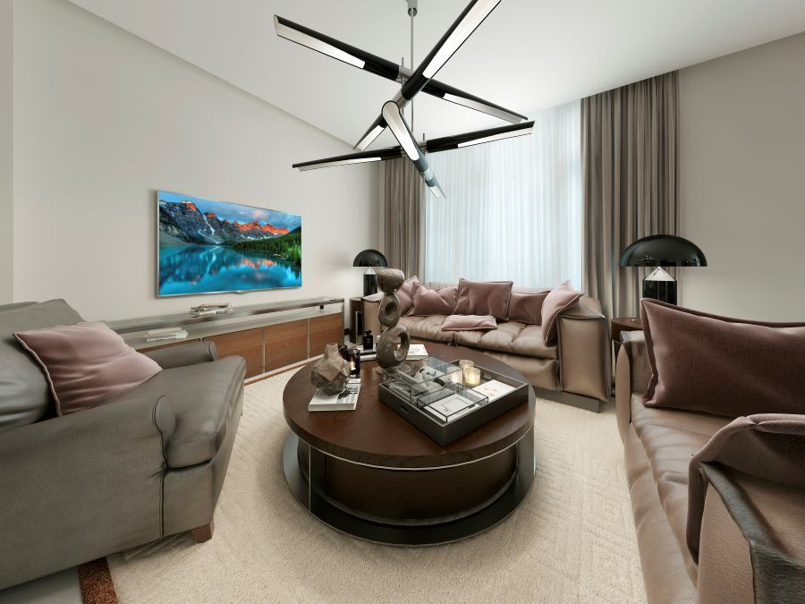 How to Design a Media Room without Distracting Equipment